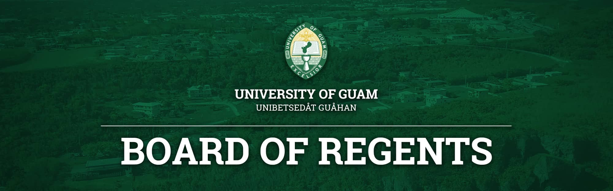 Banner image for the Board of Regents