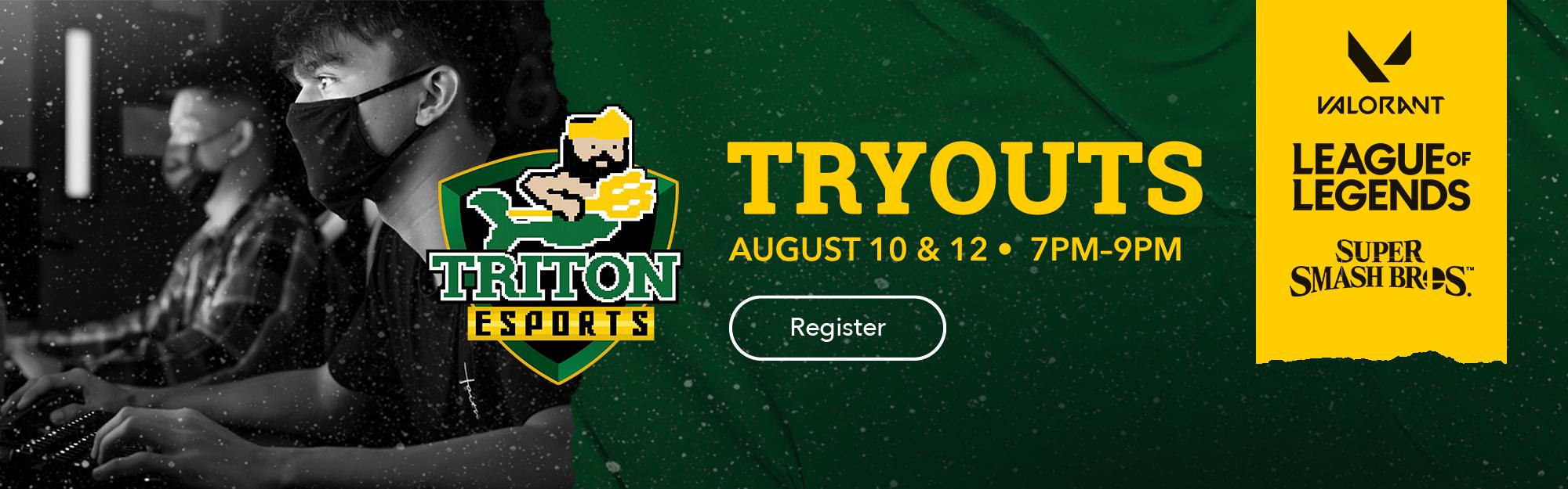 Triton Esports Tryouts