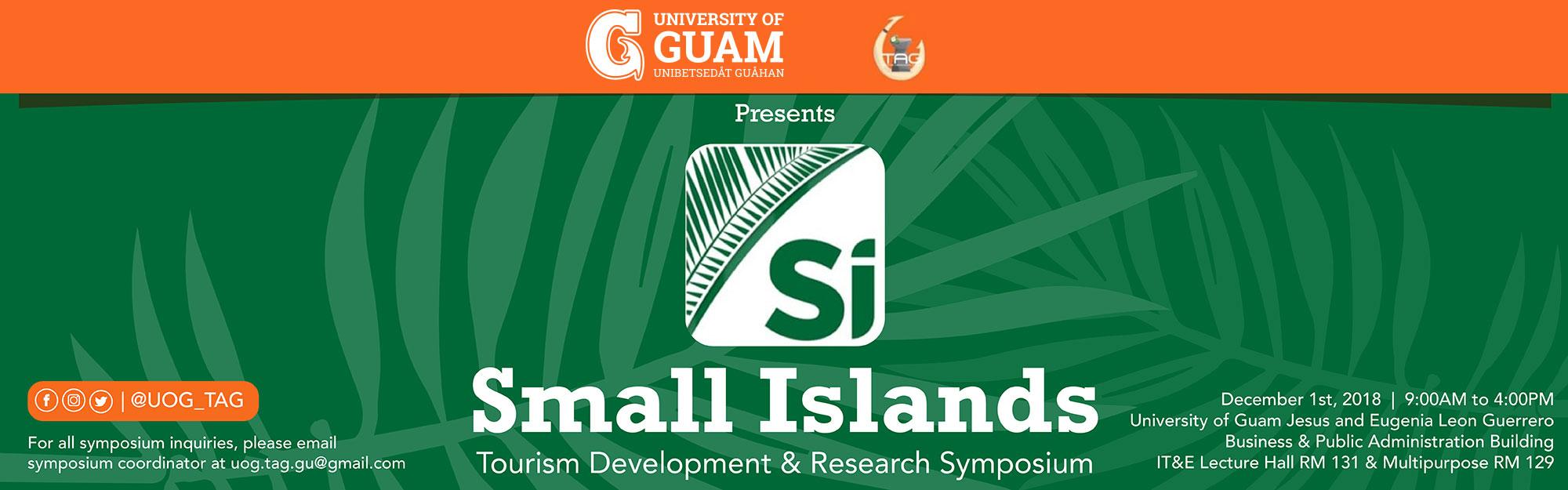 Small Islands Tourism Development and Research Symposium