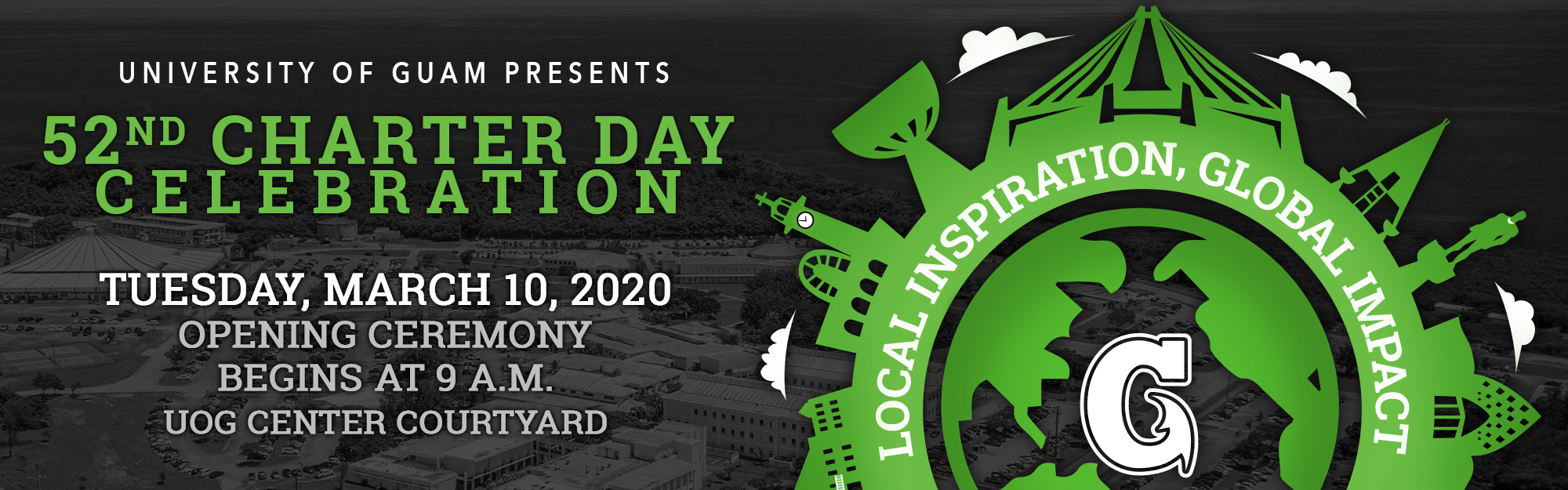Charter Day 2020 Banner