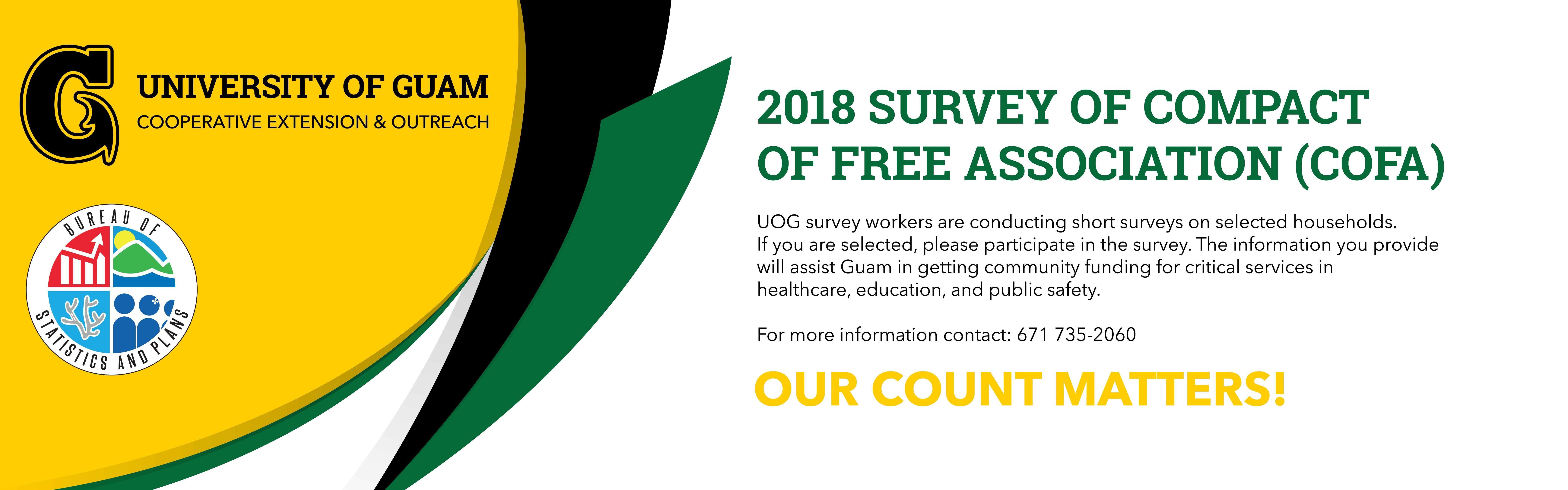 COFA Survey for 2018