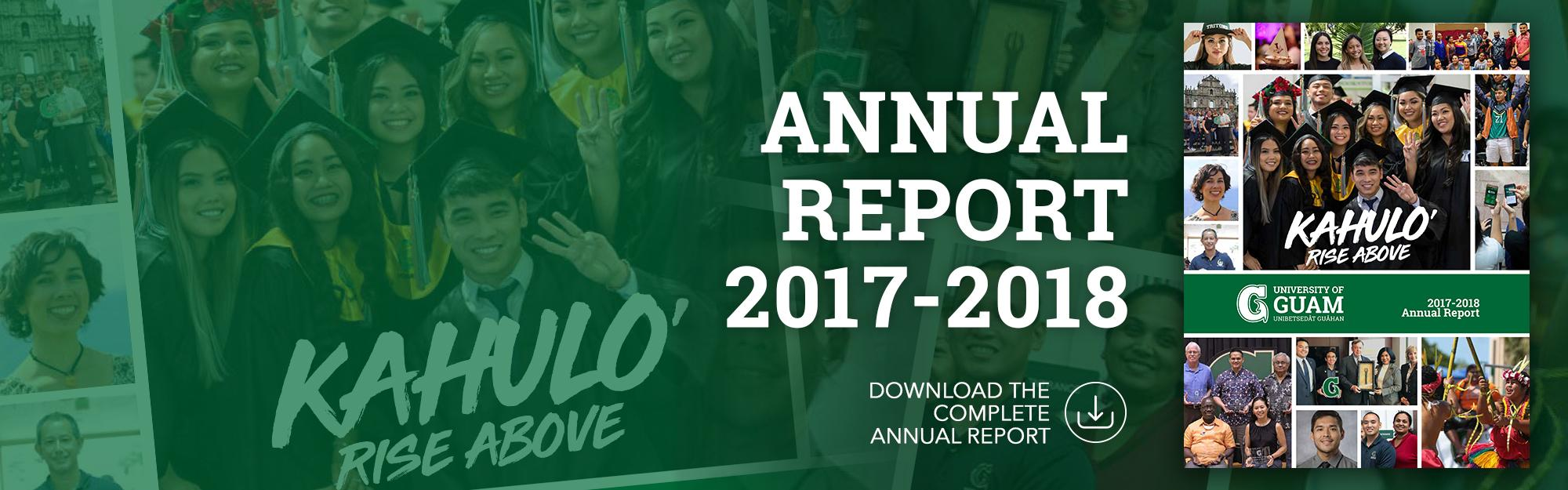Download the Annual Report 2017-2018