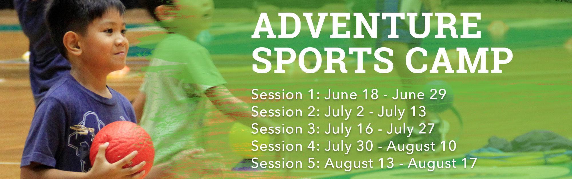 2018 Adventure Sports Camp