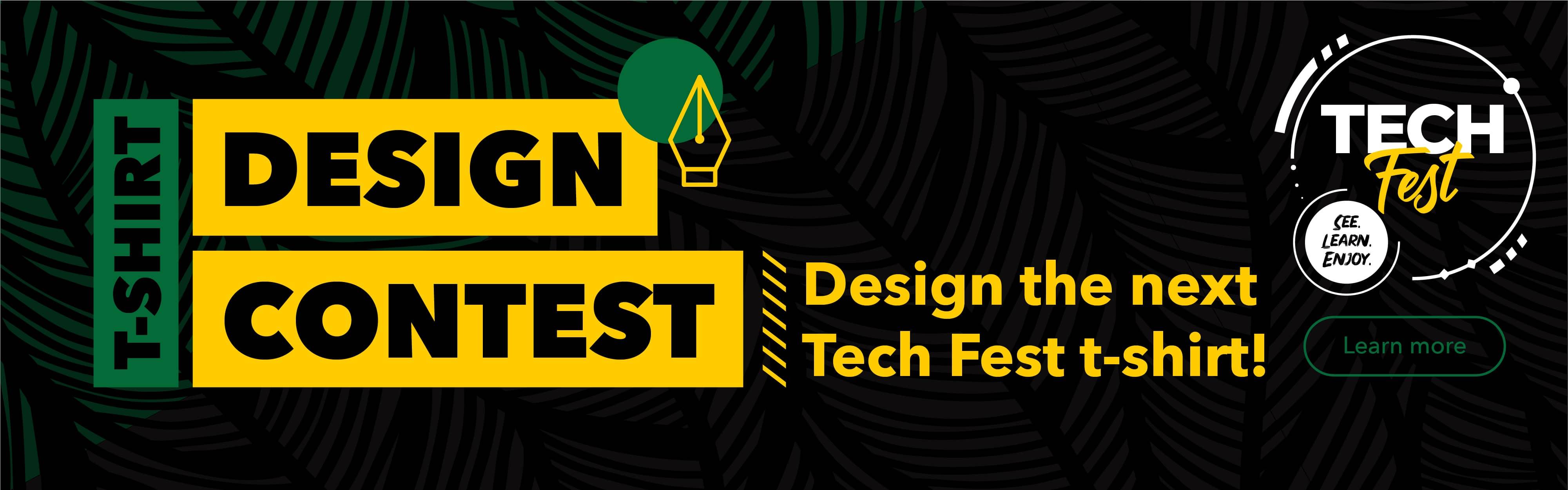 Design our next Tech Fest t-shirt!