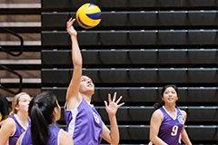 Laressa Halladay of the Trident Women's Volleyball Club