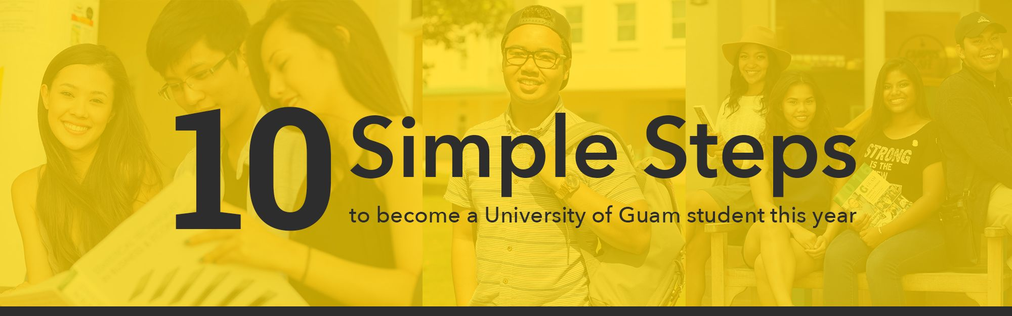 10 simple steps to become a University of Guam student this year