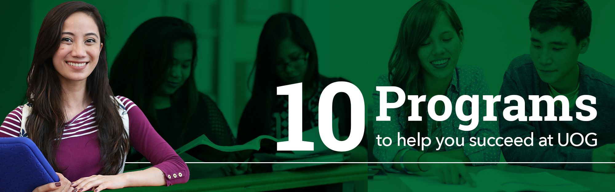 10 programs to help succeed at UOG