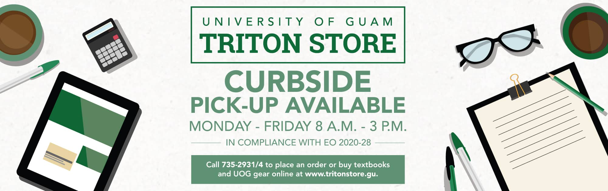 Triton Store | Curbside pick-up available