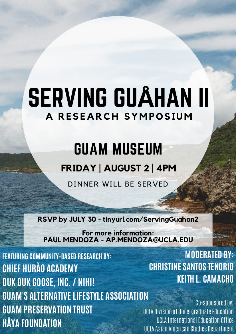 Ucla Calendar.Ucla Research Symposium Serving Guahan Ii Guam Calendar