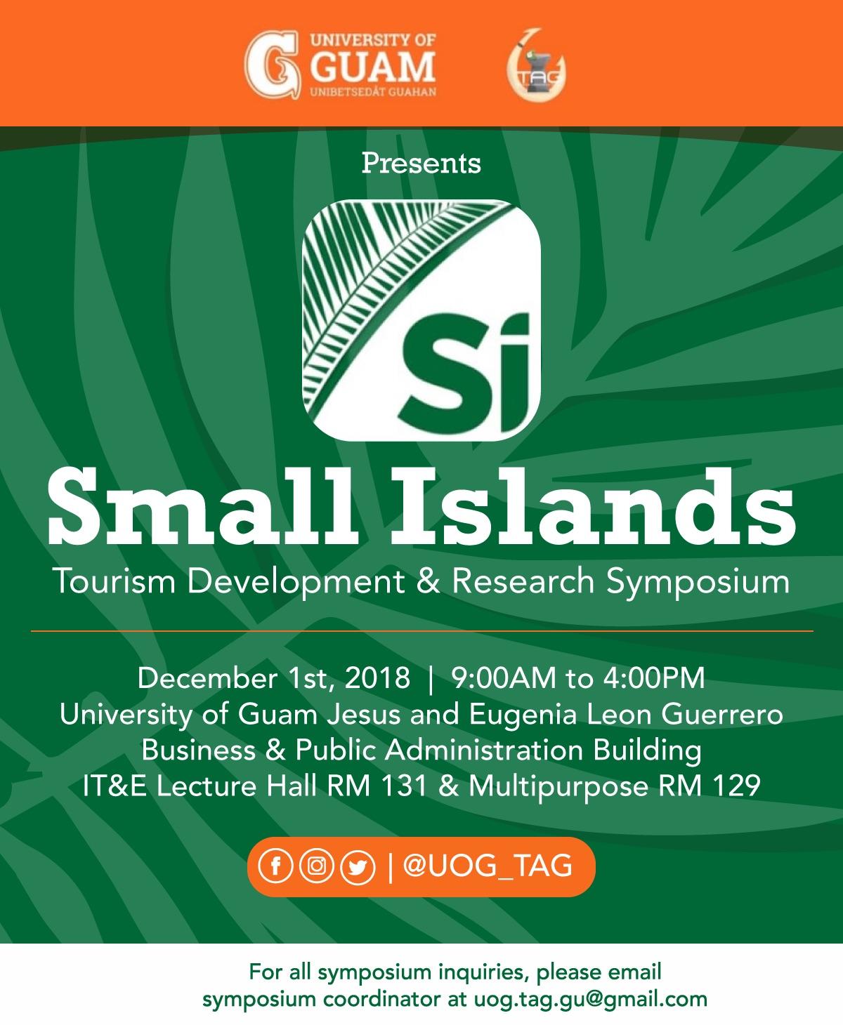Small Islands Tourism Development & Research Symposium