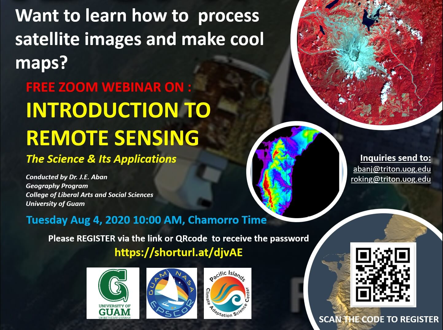 Free Webinar: Introduction to Remote Sensing