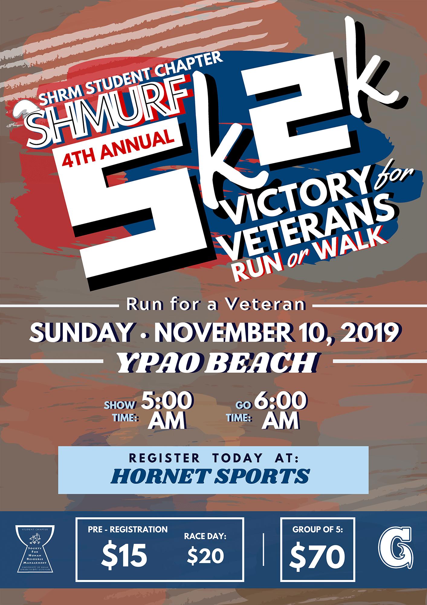 4th Annual 5K/2K Victory for Veterans Run/Walk