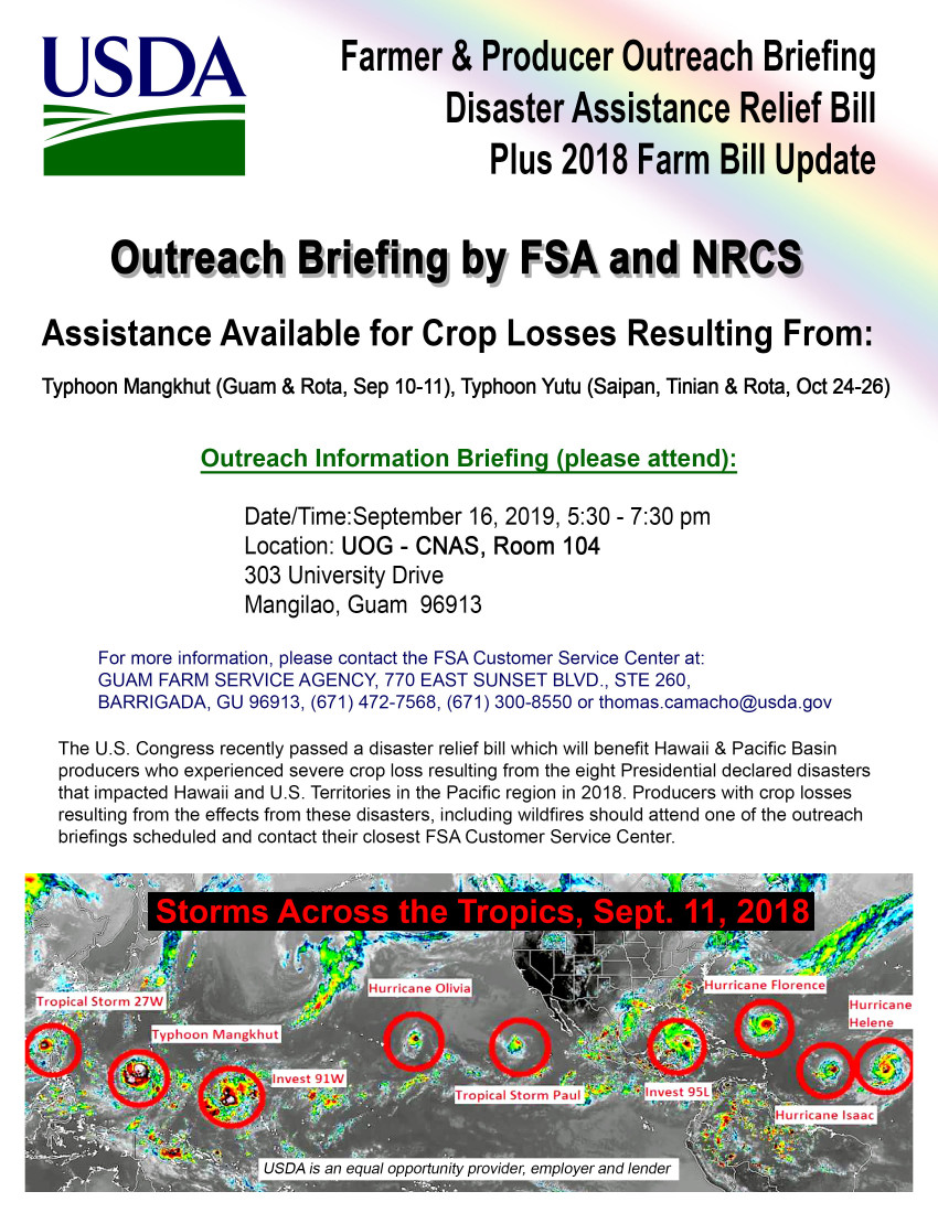 Farmer & Producer Outreach Briefing