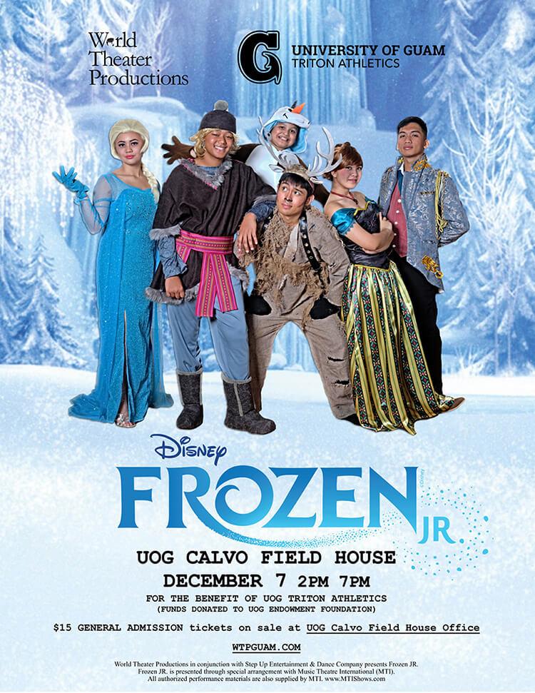 Disney's Frozen Jr. Stage Production