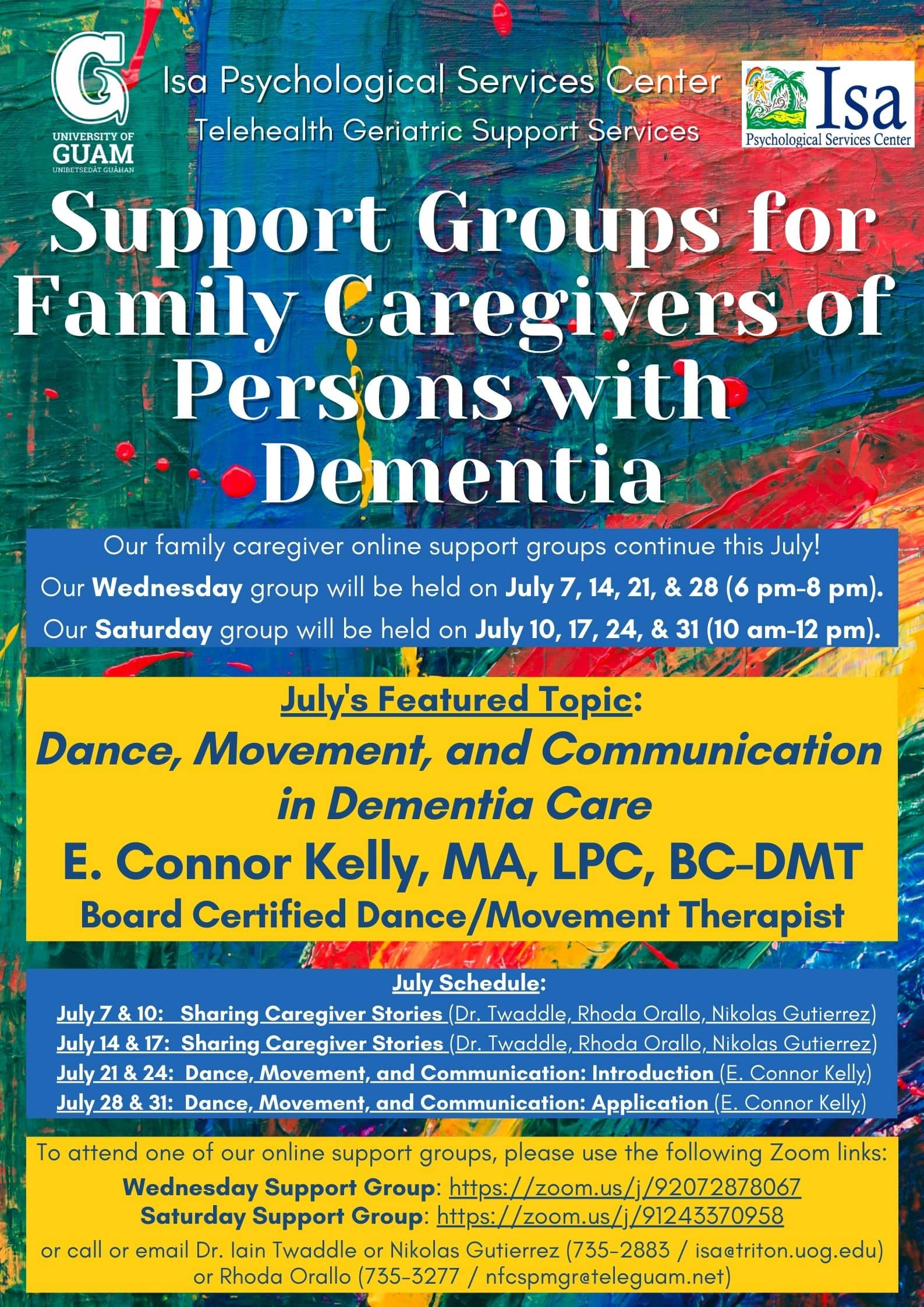 Dance, Movement, and Communication in Dementia Care