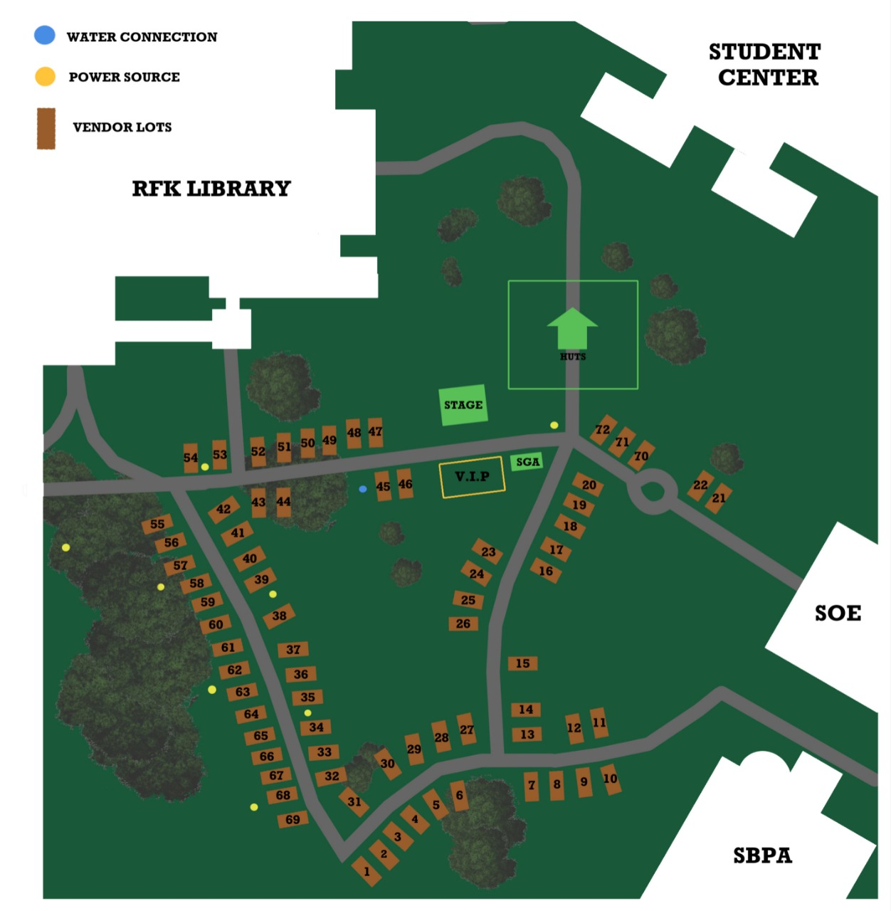 Charter Day Map