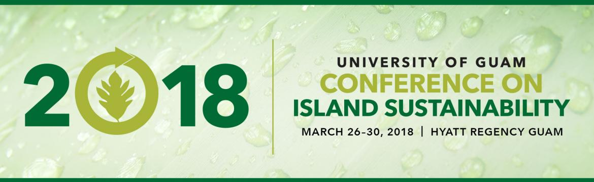 2018 Island Sustainability Conference Banner Image