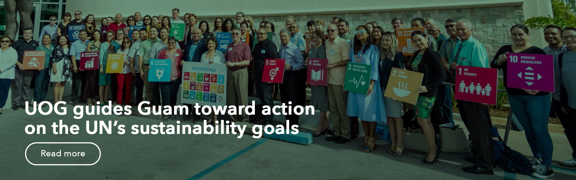 UOG guides Guam toward action on the UN's sustainability goals