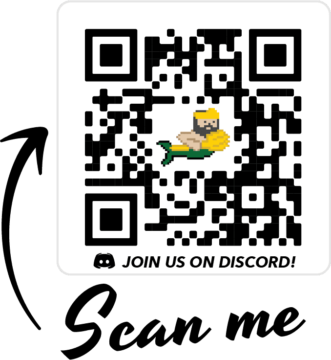 Scan the QR code to join the esports discord server
