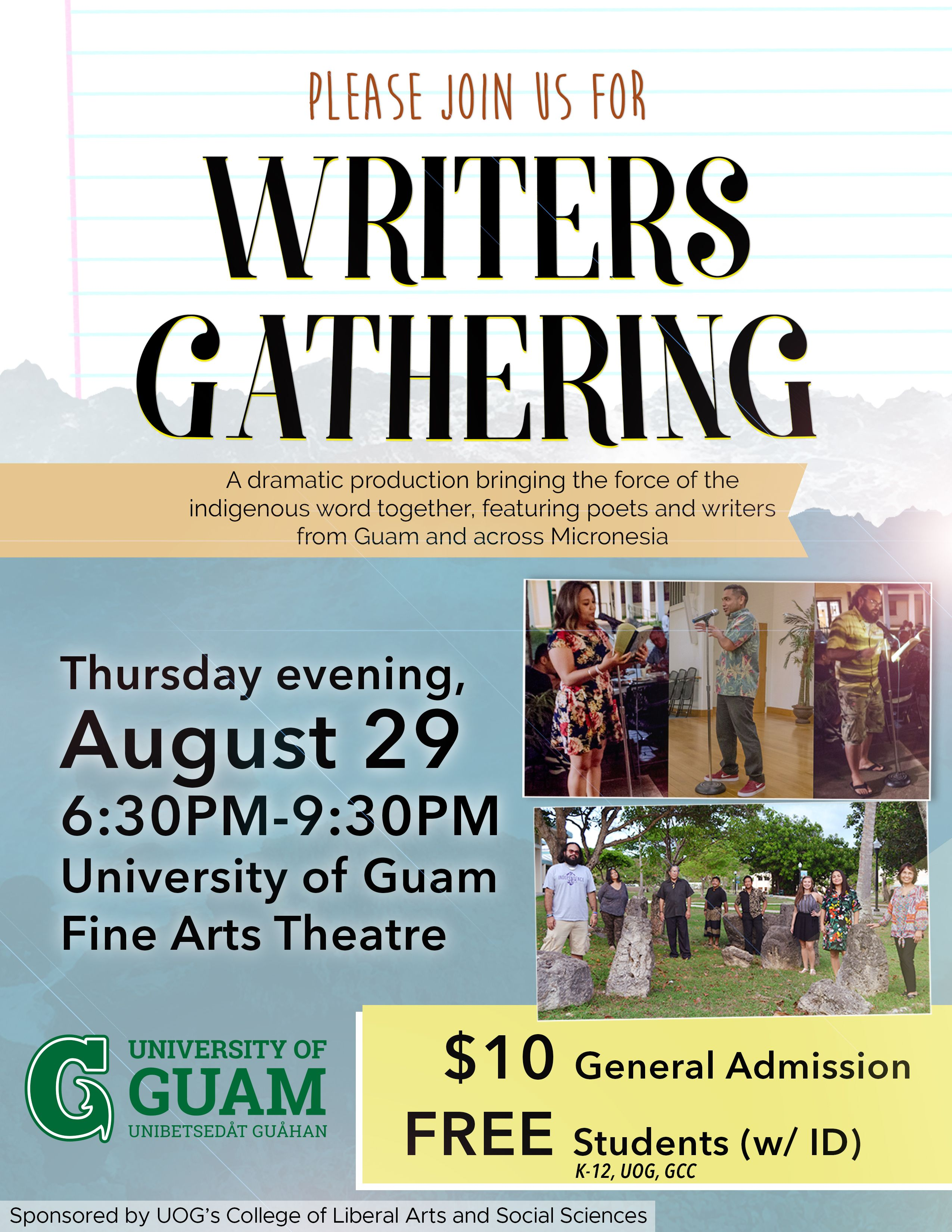 Writers Gathering: A Dramatic Production of Readings from