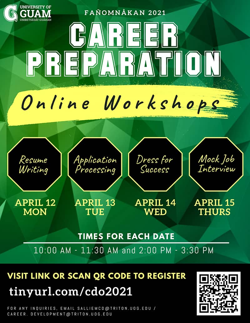 Career Preparation Workshop: Application Processing