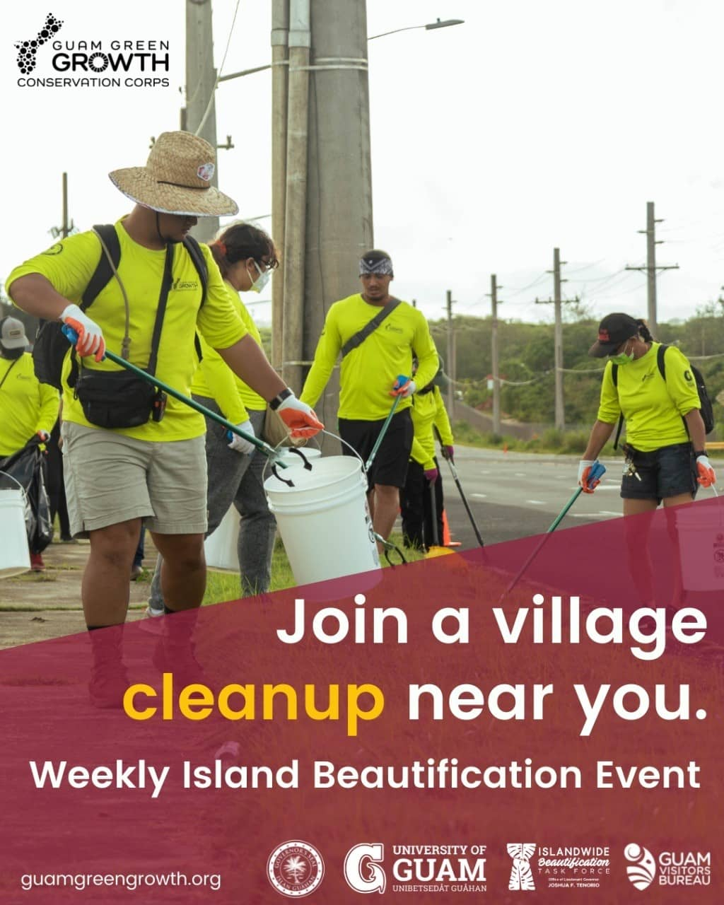 G3 Conservation Corps Island Beautification Cleanup - Umatac