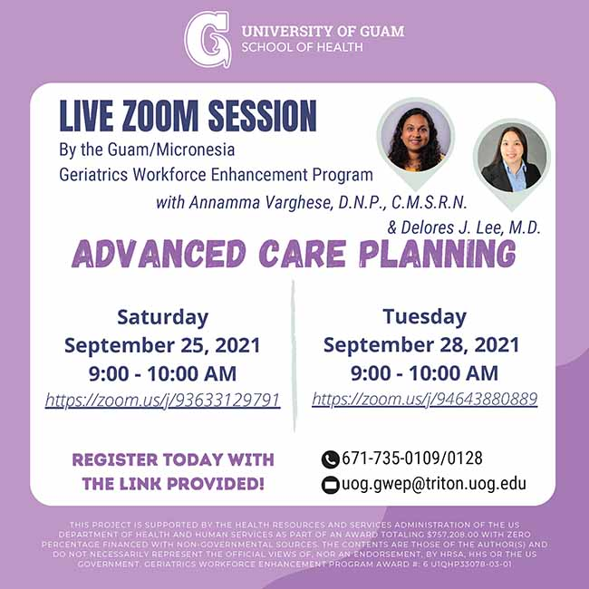 Advanced Care Planning for Elders and Their Families