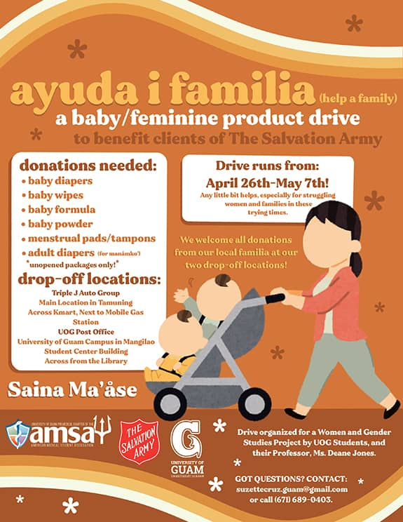 Ayuda i Familia Donation Drive