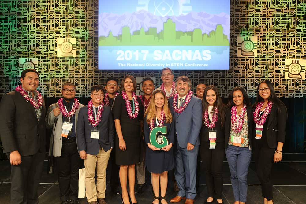 UOG Students and Faculty Attend Nation's Largest Multi-Cultural