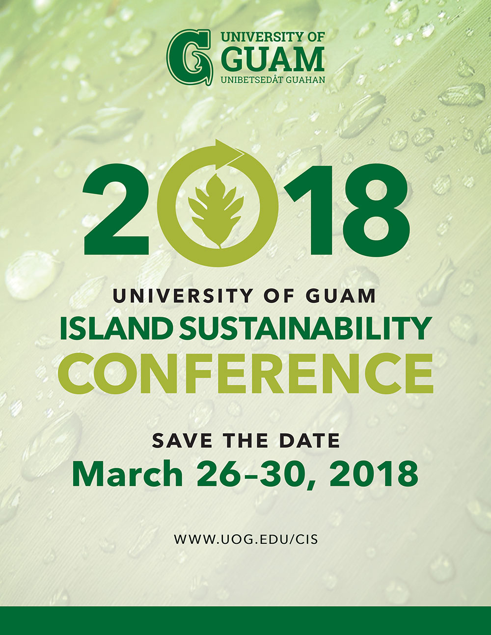 CIS 2018 Save the Date