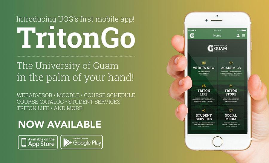 UOG Launches TritonGo Mobile App