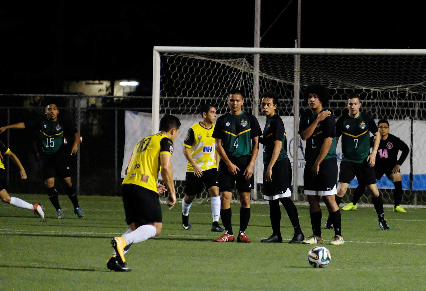 UOG Men's Soccer Holds Firm In 3rd Place In Premier League