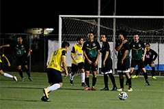 The University of Guam Men's Soccer Team will have to scale a mountain on Friday night to advance to the championship of the GFA's Budweiser Premier League