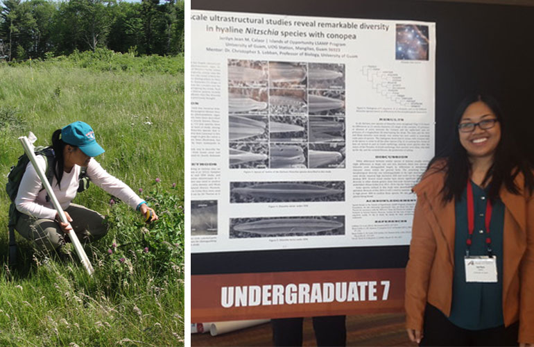 Following a competitive application process, University of Guam biology major Jerilyn Calaor has been offered an award from the National Science Foundation's (NSF) Graduate Research Fellowship Program (GRFP).