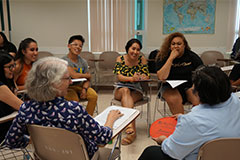 In Guam, the visiting students will be involved in two daily classes in UOG, weekly excursions to cultural sites, and research projects with community organizations.