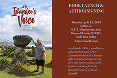 UOG Press hosts book launch and author signing July 12