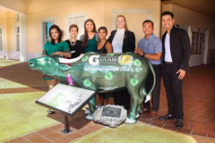 The UOG PMBA class of 2016 held a Carabao Commemoration Ceremony last month