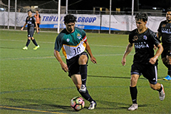 The University of Guam Men's Soccer Team won their 10th match of the Guam Football Association's Budweiser Premier League on Saturday night at the GFA National Training Center over the Familia FC 5-1.