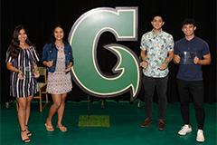 The UOG Triton Athletics Department had its annual Student-Athlete Reception, where each team had four awards to give, to include the Most Valuable Player for each sport.