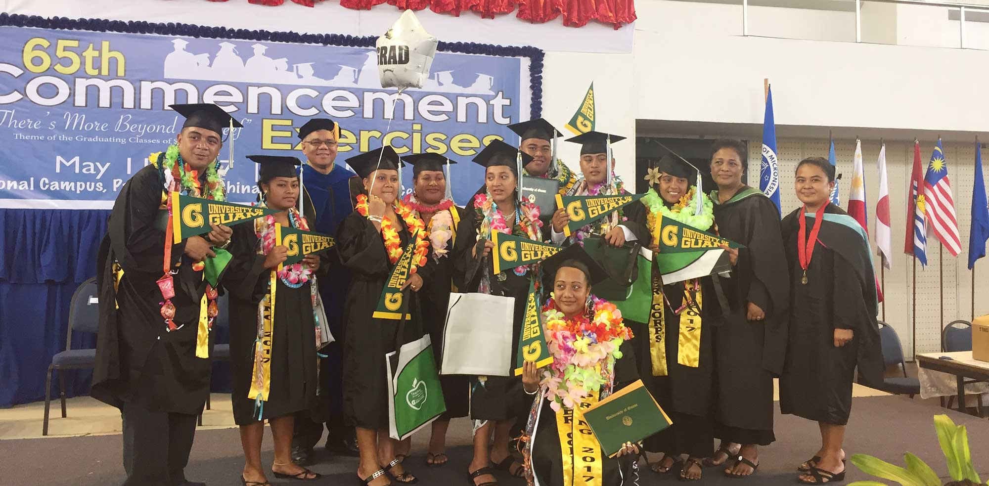 College Of Micronesia Graduates Earn Education Degrees From Uog