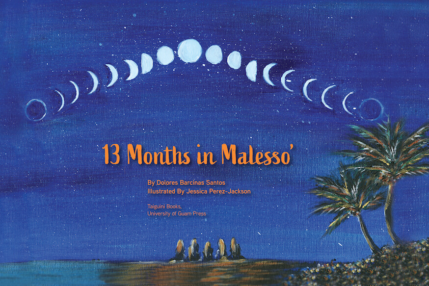 """13 Months in Malesso'' book cover"