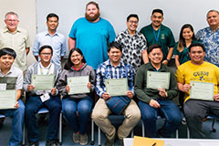 The College of Natural & Applied Sciences and the Marine Laboratory at the University of Guam hosted high school students from the Philippines in June and July for an 80-hour science immersion internship program.