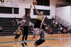 The University of Guam Men's Basketball Team escaped an upset with a one-point win against Guam Community College.
