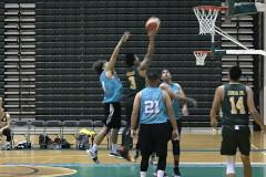 Club teams beat college teams in Triton Men's Basketball League