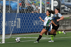 The University of Guam Women's Soccer Team opened the fañomnåkan portion of the Guam Football Association Amateur Women's League on Jan. 20, 2019, by defeating the Lady Bombers of Andersen Air Force Base 6-0 at the GFA National Training Center.