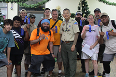 "The CHamoru District Boy Scouts of America used the revised edition of ""Trees and Shrubs of the Mariana Islands"" to identify native and toxic plants during a scavenger hunt in December."