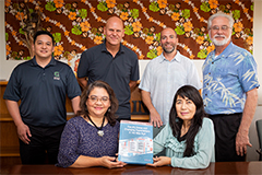 Ten faculty members from the University of Guam contributed to a new reference book for higher education educators, administrators, and researchers.