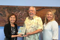 Evelyn Flores, James Sellmann, Sharleen Santos-Bamba