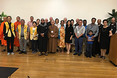 """The University of Guam and the interfaith community of Guam hosted on March 23 a """"One Humanity for Peace"""" event, a multi-religious prayer and chant vigil for the victims of the terrorist mass shootings that took place at mosques in Christchurch, New Zealand, on March 15."""