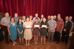 Emeritus professors of UOG award student scholarships